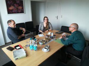 Can Flechtner, Nicole Schmidchen und Peter Wagner